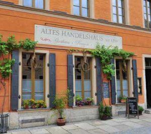Außenansicht Altes Handelshaus in Plauen