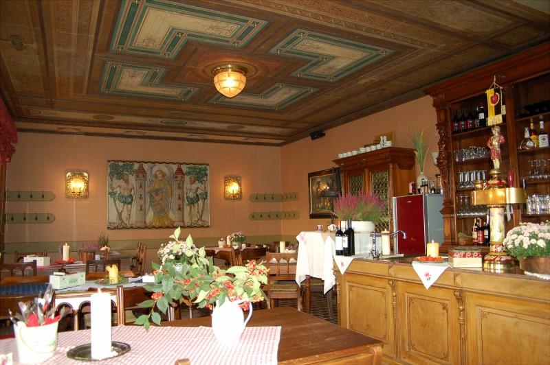 kleines Restaurant im Alten Handelshaus Plauen