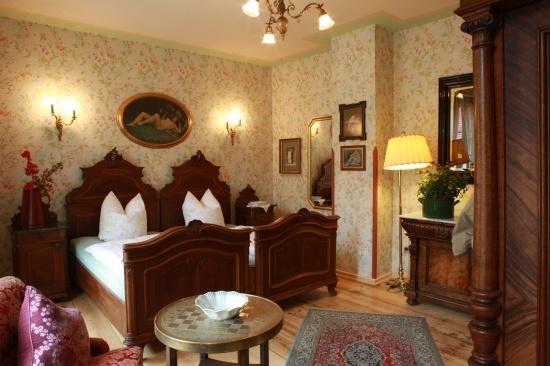 Zimmeransicht: altes Handelshaus in Plauen