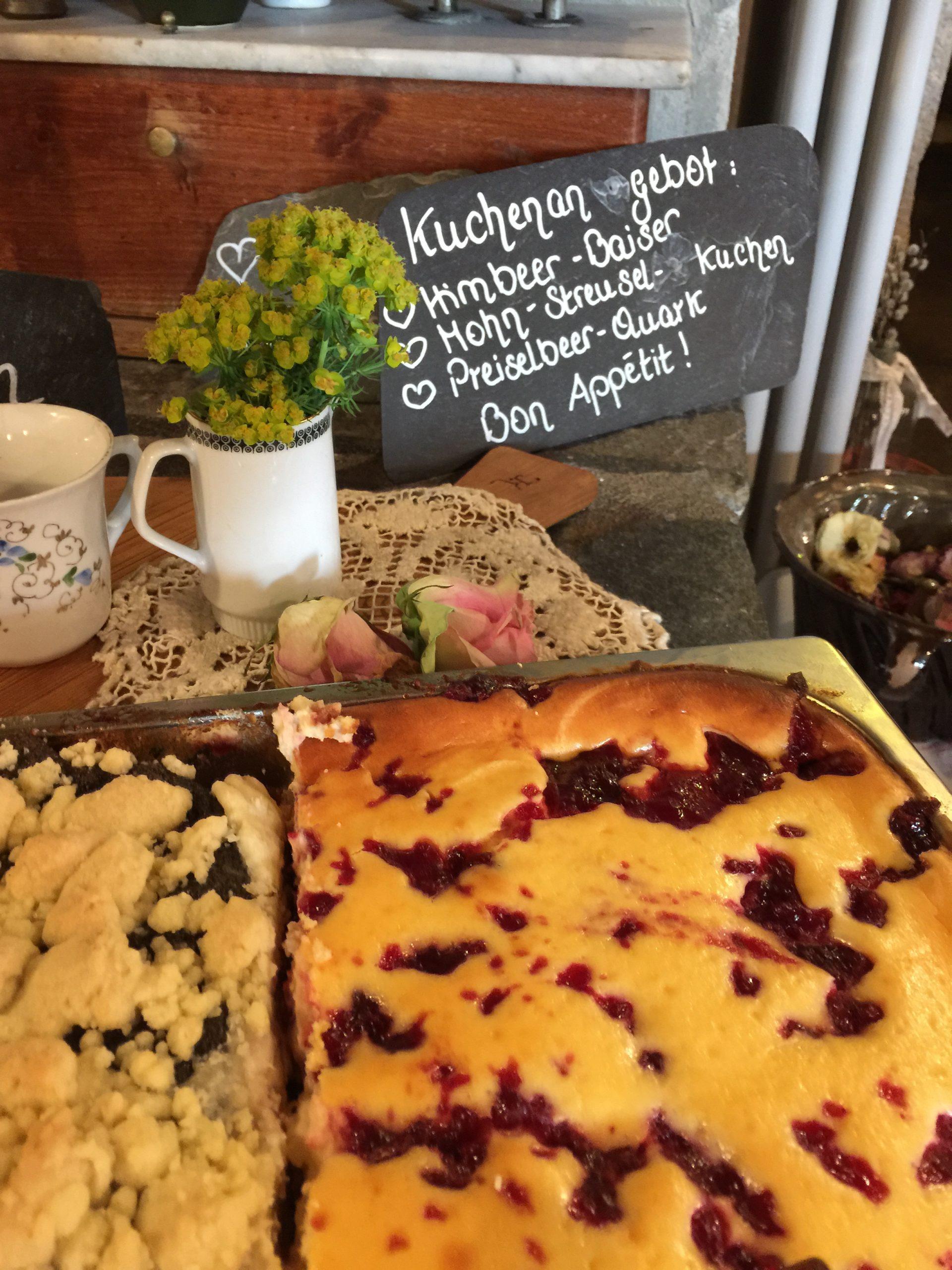 hausgebackener Kuchen | Altes Handelshaus Plauen